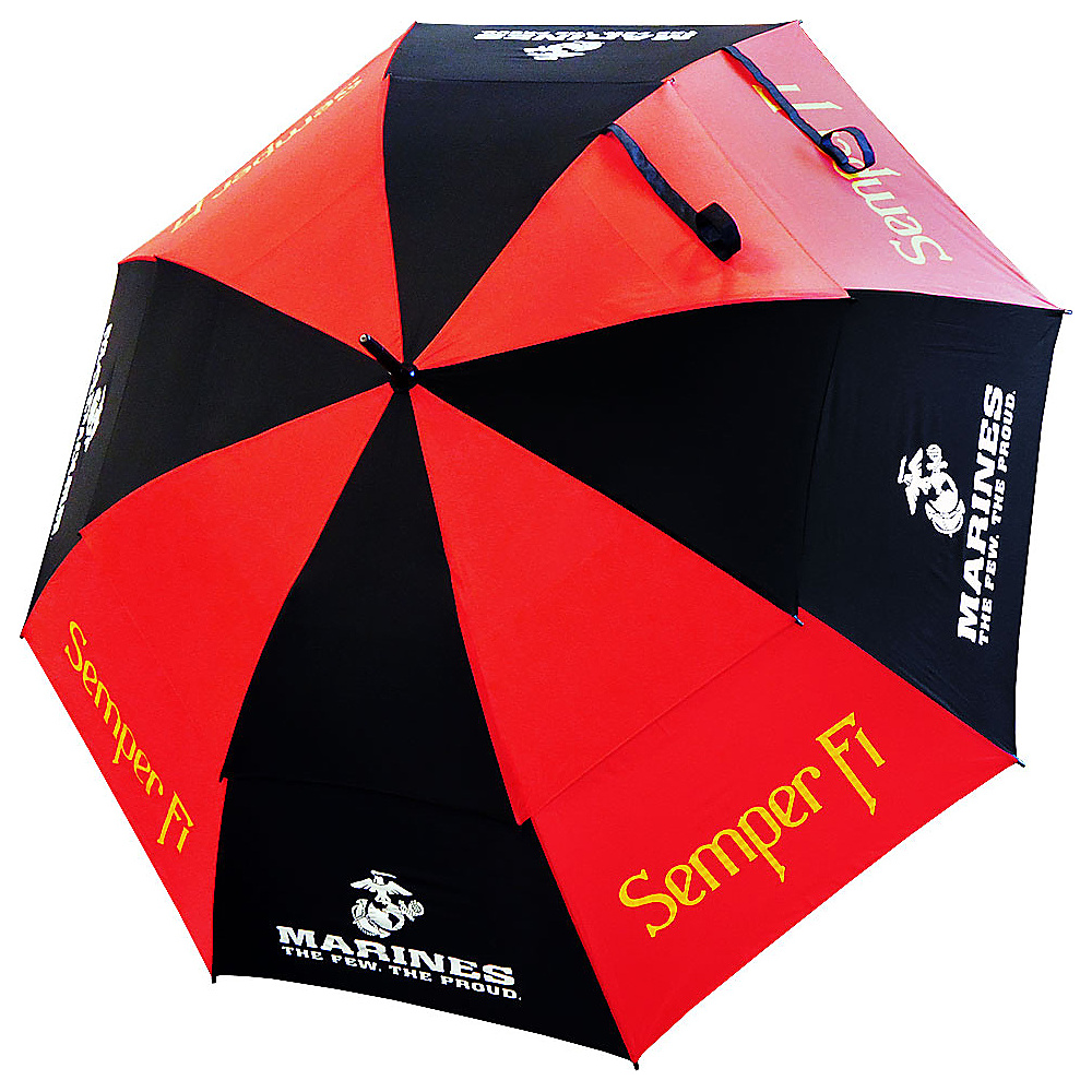 """Hot-Z Golf Bags 62"""" Double Canopy Umbrella Marines - Hot-Z Golf Bags Sports Accessories"""
