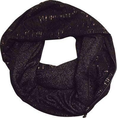 Sholdit Cat Scratch Scarf Purse Black - Sholdit Hats/Gloves/Scarves