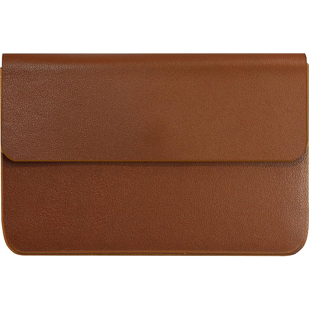 Stewart Stand Business Card Credit Card Case RFID Blocking Tan Stewart Stand Men s Wallets