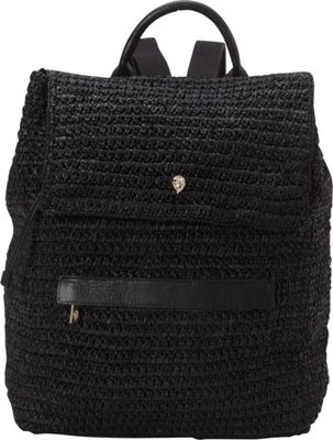 Helen Kaminski Cafaro Backpack Charcoal/Black - Helen Kaminski Designer Handbags