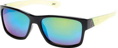 Skechers Eyewear Full Rim Sunglasses Black - Skechers Eyewear Sunglasses