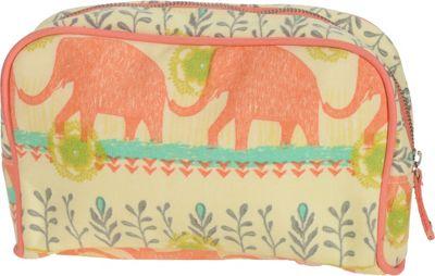 Capri Designs Sarah Watts Large Cosmetic Case Elephant - Capri Designs Women's SLG Other