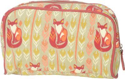Capri Designs Sarah Watts Large Cosmetic Case Fox - Capri Designs Women's SLG Other