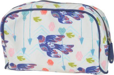 Capri Designs Sarah Watts Large Cosmetic Case Dove - Capri Designs Women's SLG Other