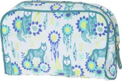 Capri Designs Sarah Watts Large Cosmetic Case Wolf - Capri Designs Women's SLG Other