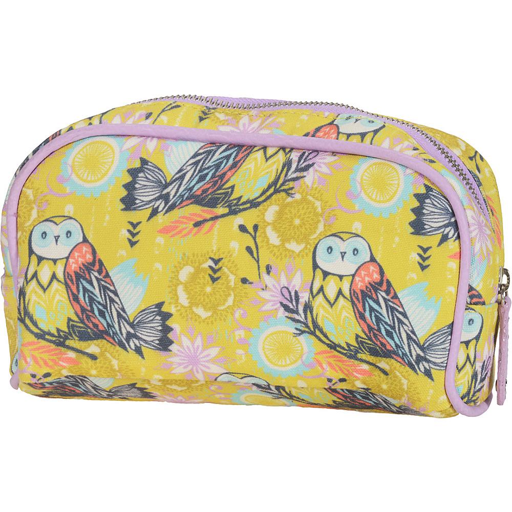 Capri Designs Sarah Watts Small Cosmetic Case Owl - Capri Designs Women's SLG Other