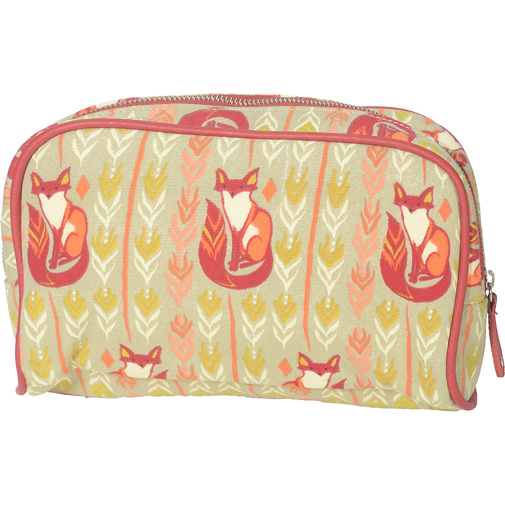 Capri Designs Sarah Watts Small Cosmetic Case Fox Capri Designs Women s SLG Other