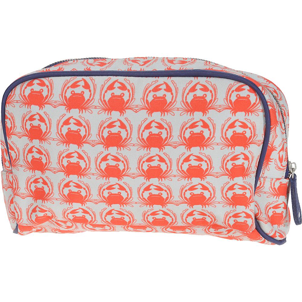 Capri Designs Sarah Watts Small Cosmetic Case Crab Capri Designs Women s SLG Other