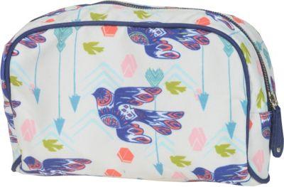 Capri Designs Sarah Watts Small Cosmetic Case Dove - Capri Designs Women's SLG Other