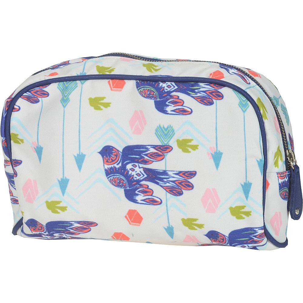 Capri Designs Sarah Watts Small Cosmetic Case Dove Capri Designs Women s SLG Other