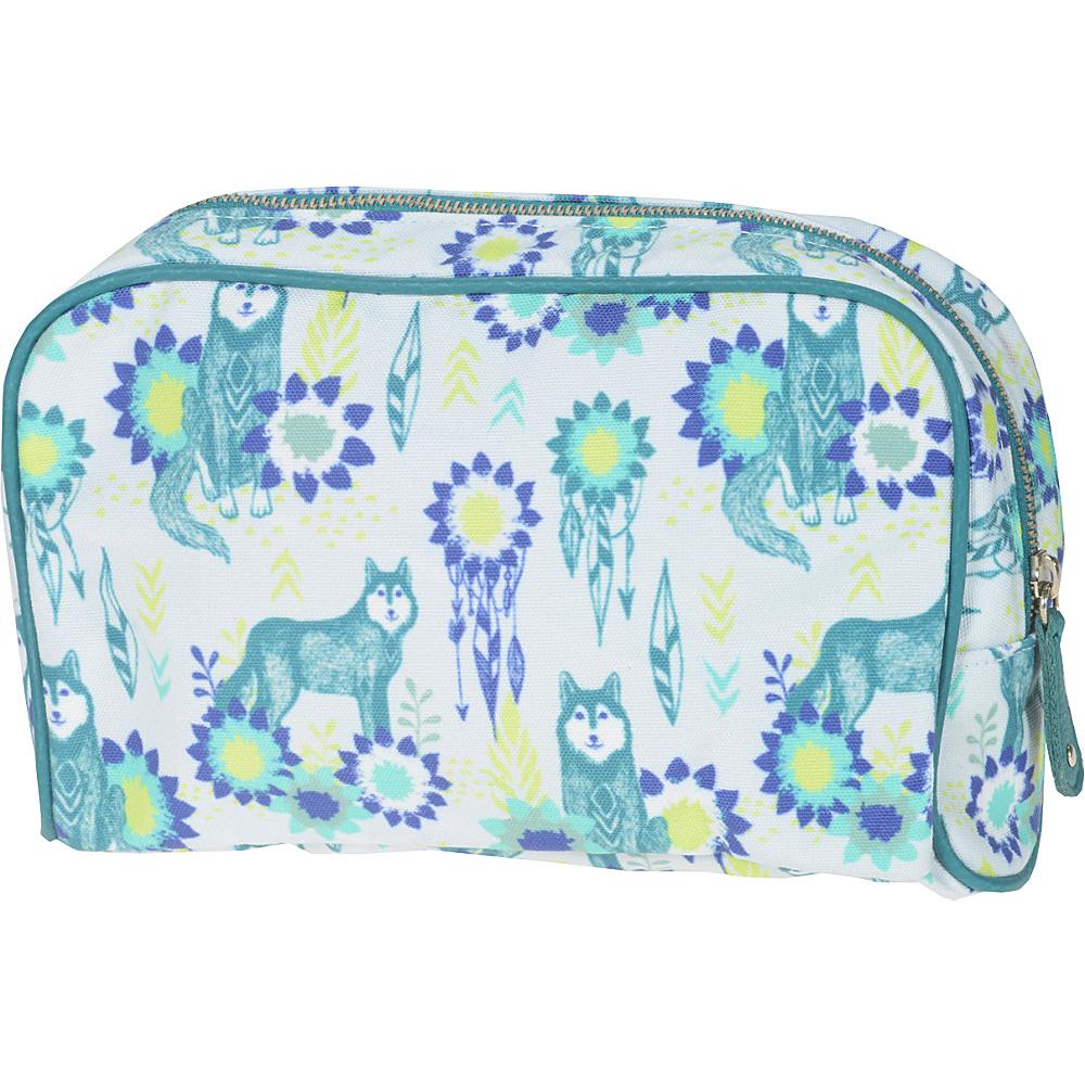 Capri Designs Sarah Watts Small Cosmetic Case Wolf Capri Designs Women s SLG Other