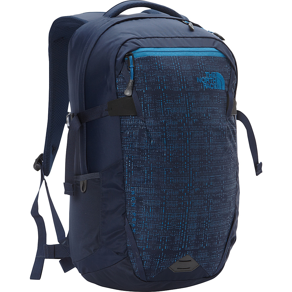 The North Face Iron Peak Laptop Backpack Urban Navy Banff Blue The North Face Business Laptop Backpacks