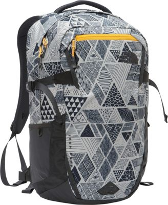 The North Face Iron Peak Laptop Backpack Trickonometry Print/Radiant Yellow - The North Face Business & Laptop Backpacks