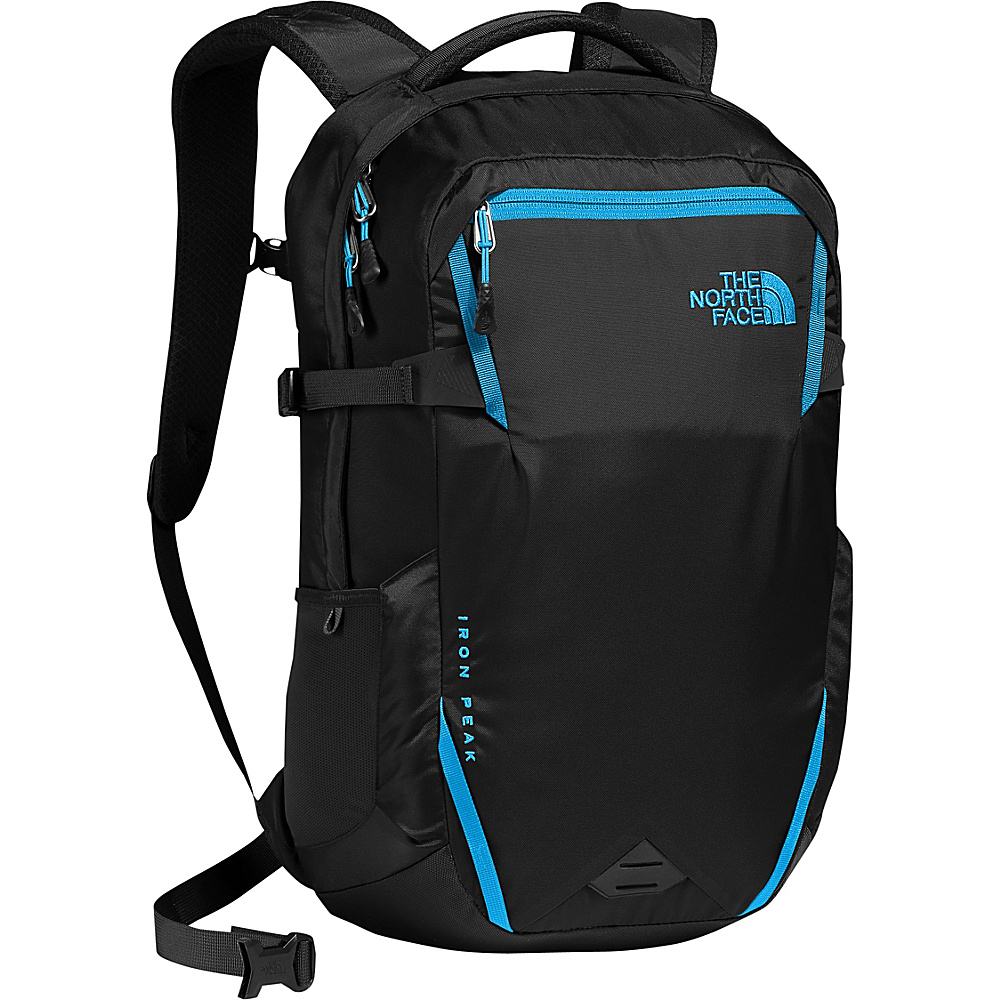 The North Face Iron Peak Laptop Backpack Tnf Black/Hyper Blue - The North Face Business & Laptop Backpacks - Backpacks, Business & Laptop Backpacks