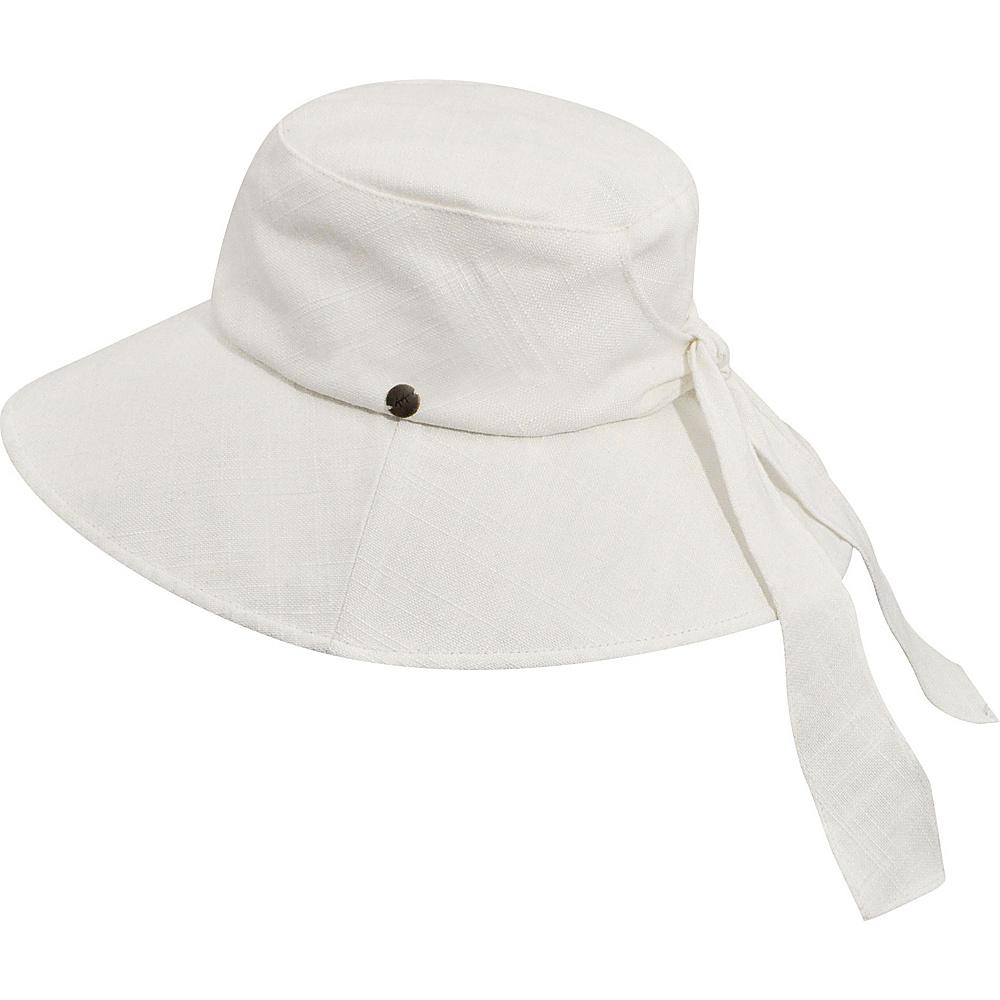 Karen Kane Hats Sun Floppy Hat Solid White Karen Kane Hats Hats Gloves Scarves