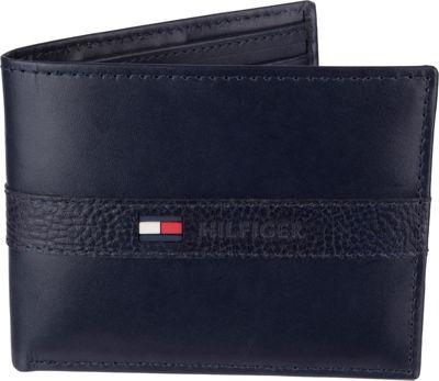 Tommy Hilfiger Accessories Ranger Passcase Wallet Navy - Tommy Hilfiger Accessories Men's Wallets