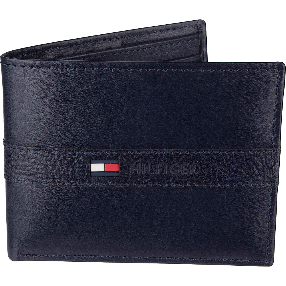 098e17542a7 ... Wallet Navy - Tommy Hilfiger Accessor UPC 026217110516 product image  for Tommy Hilfiger Men's Ranger Leather Passcase Wallet with Removable Card  Holder