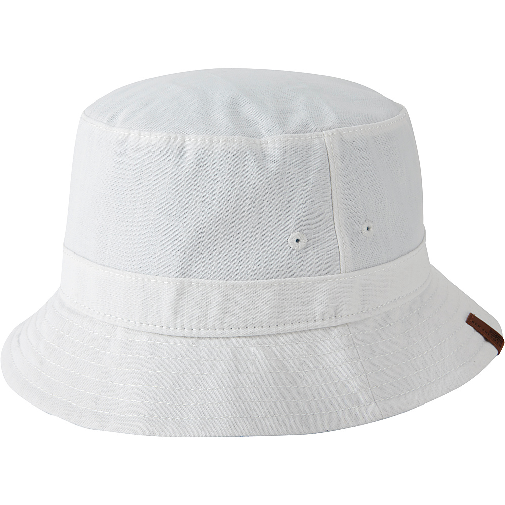 Ben Sherman Slub Dungaree Bucket Hat White - S/M - Ben Sherman Hats/Gloves/Scarves
