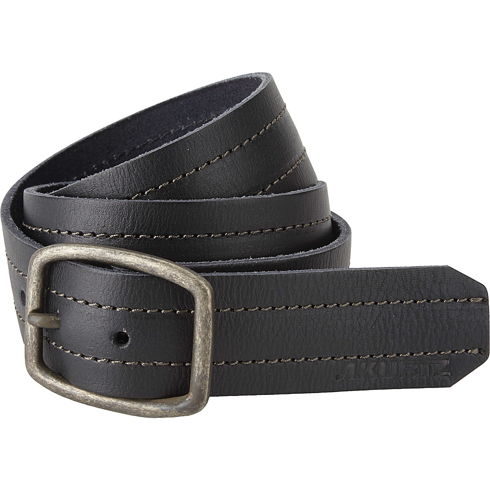A Kurtz Chance Leather Belt Black 38 A Kurtz Other Fashion Accessories