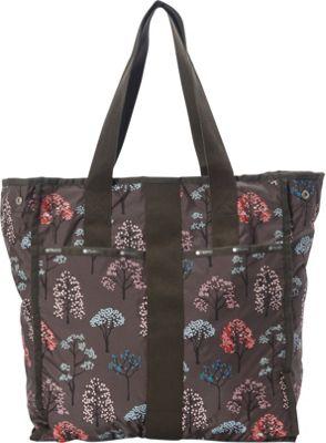 LeSportsac Large City Tote Tree Top C - LeSportsac Fabric Handbags