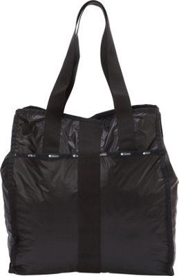 LeSportsac Large City Tote True Black - LeSportsac Fabric Handbags
