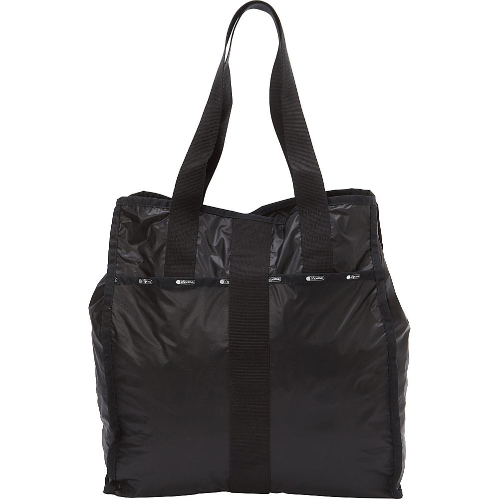 LeSportsac Large City Tote True Black LeSportsac Fabric Handbags
