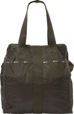 LeSportsac Large City Tote Gravel C - LeSportsac Fabric Handbags