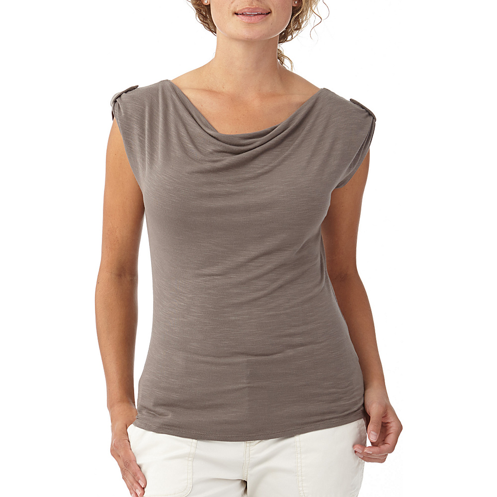 Royal Robbins Womens Noe Short Sleeve XS Taupe Royal Robbins Women s Apparel