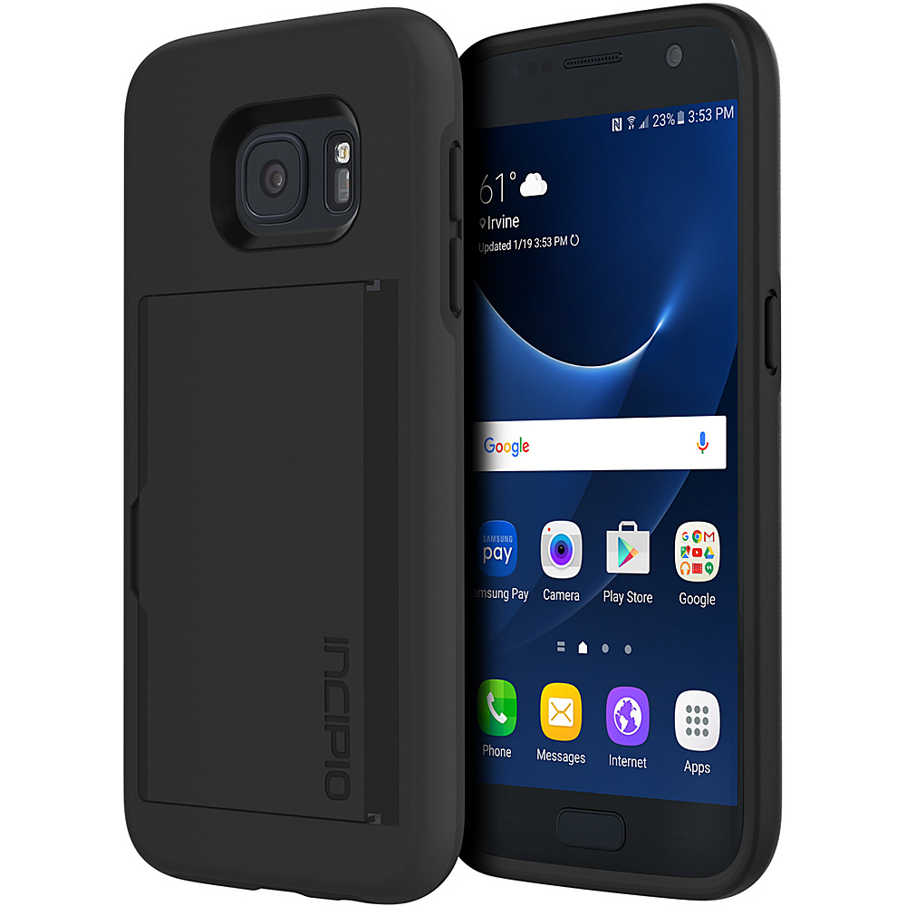 Incipio Stowaway for Samsung Galaxy S7 Black - Incipio Electronic Cases - Technology, Electronic Cases