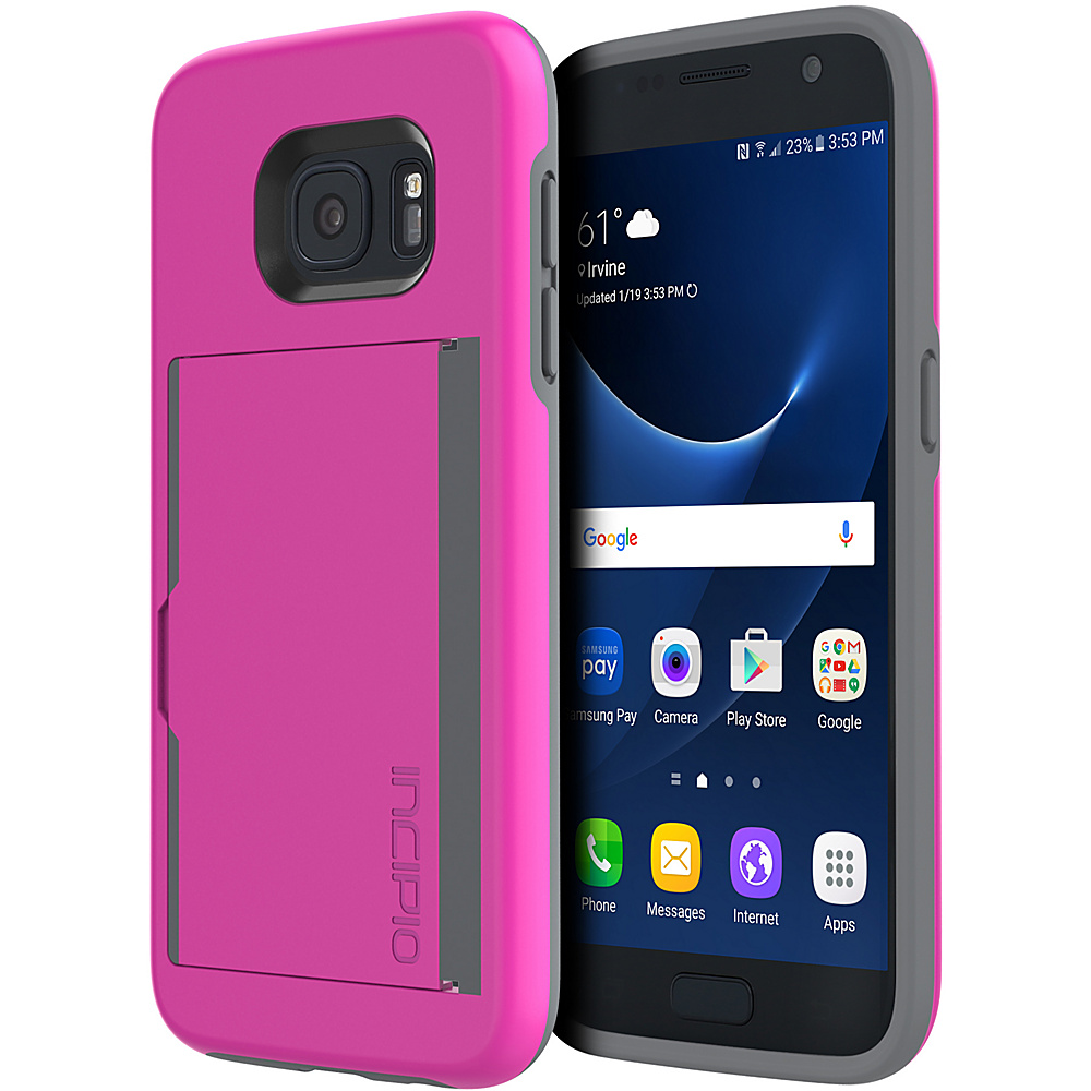 Incipio Stowaway for Samsung Galaxy S7 Pink - Incipio Electronic Cases - Technology, Electronic Cases