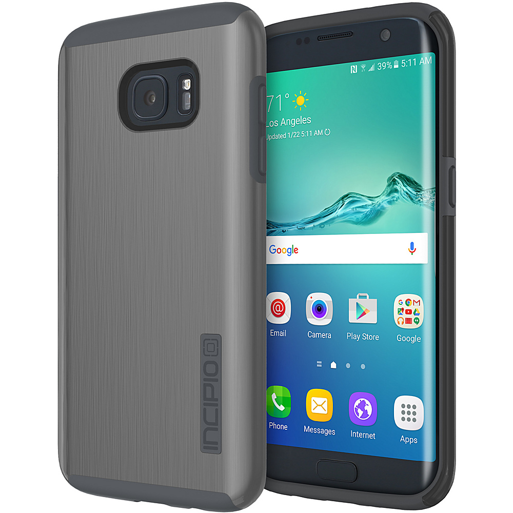 Incipio DualPro Shine for Samsung Galaxy S7 Edge Gunmetal/Gray - Incipio Electronic Cases - Technology, Electronic Cases