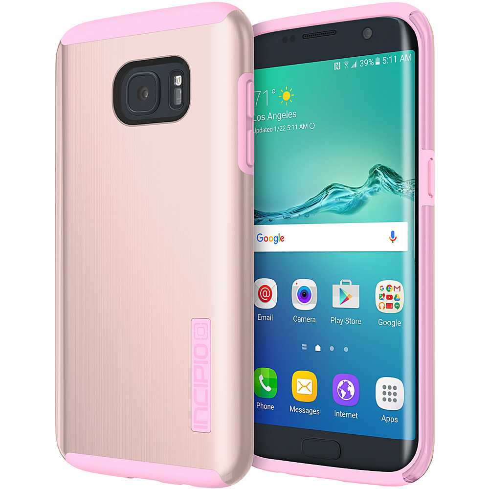 Incipio DualPro Shine for Samsung Galaxy S7 Edge Rose Gold/Pink - Incipio Electronic Cases - Technology, Electronic Cases