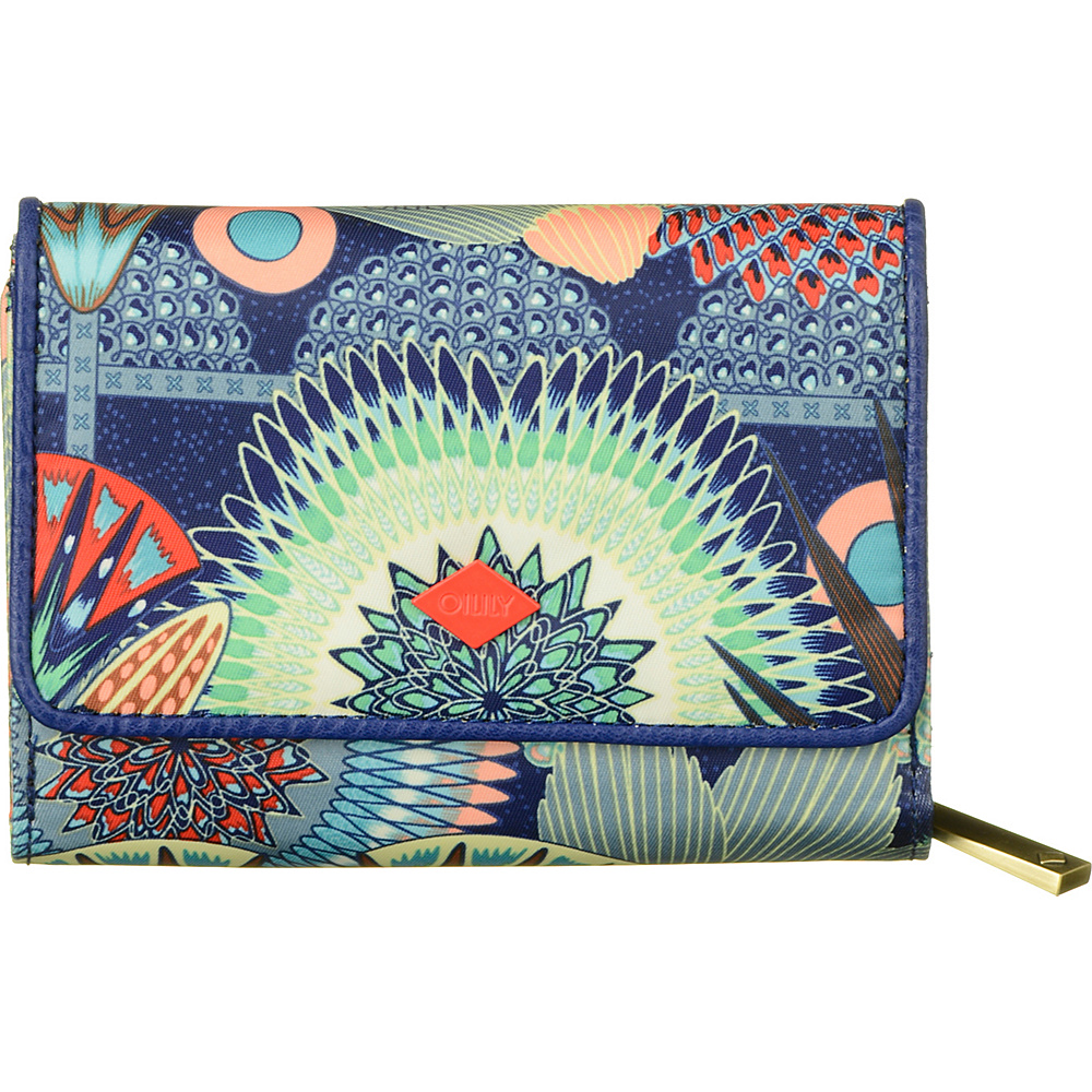 Oilily Small Wallet Lagoon Oilily Women s Wallets