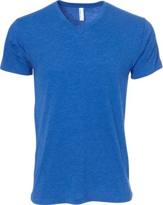 Simplex Apparel CVC Mens V Tee 2XL - Royal - Simplex Apparel Men's Apparel