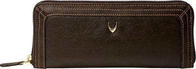 Hidesign Cerys Zip Around Leather Wallet Brown - Hidesign Women's Wallets