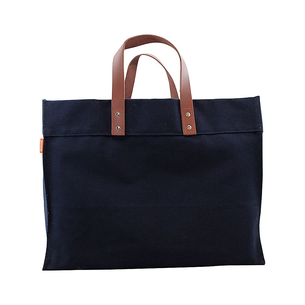 CB Station Advantage Utility Tote Navy - CB Station Fabric Handbags
