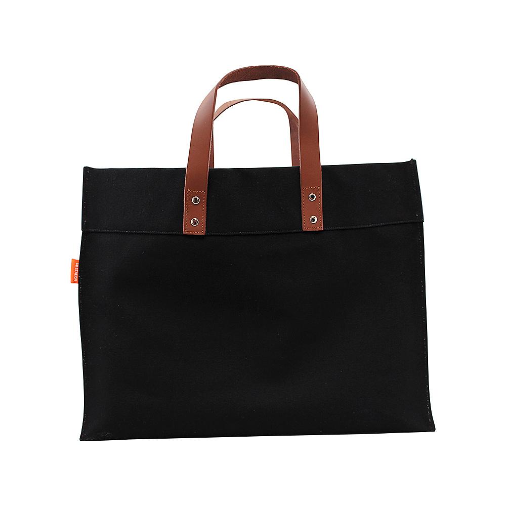 CB Station Advantage Utility Tote Natural/Black - CB Station Fabric Handbags