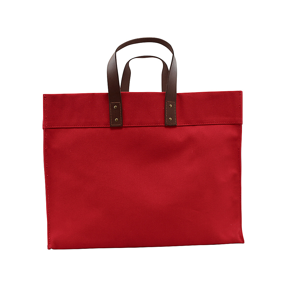 CB Station Advantage Utility Tote Red - CB Station Fabric Handbags