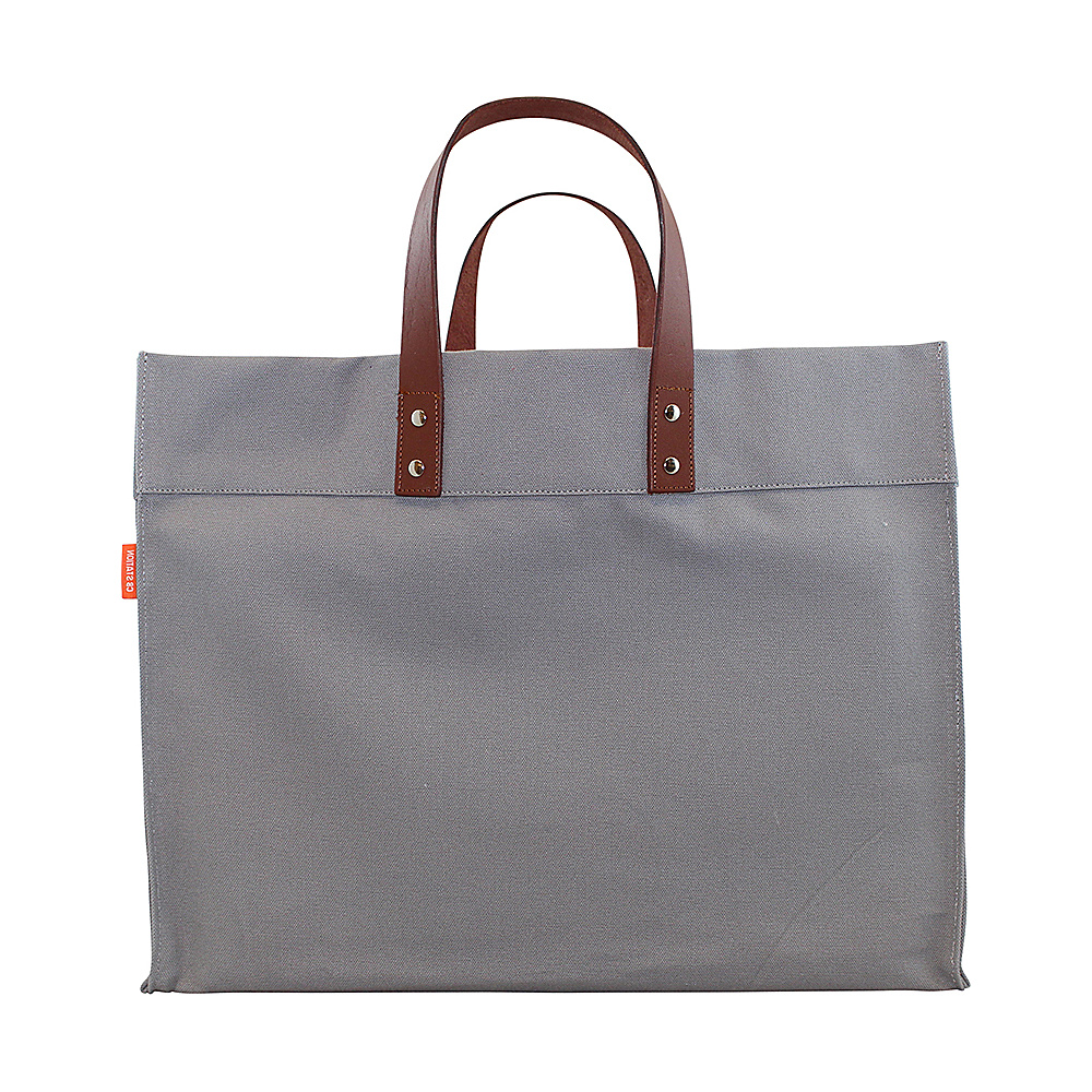CB Station Advantage Utility Tote Gray CB Station Fabric Handbags