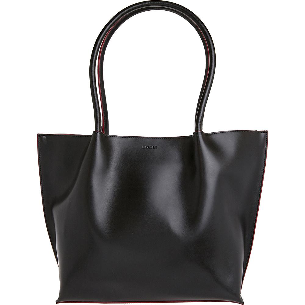 Lodis Audrey Ebony Tote Black - Lodis Leather Handbags - Handbags, Leather Handbags