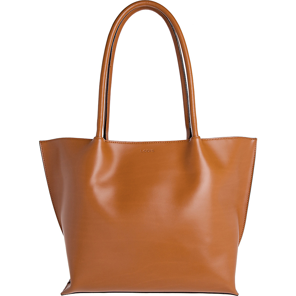Lodis Audrey Ebony Tote Toffee - Lodis Leather Handbags - Handbags, Leather Handbags