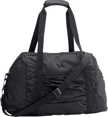Under Armour The Works Gym Bag Black / Black / Metallic Gold  -  Under Armour Gym Duffels