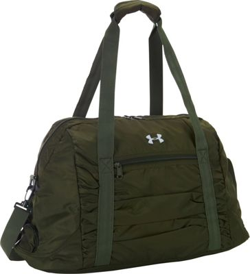 Under Armour The Works Gym Bag Artillery Green/Downtown Green/Silver - Under Armour All Purpose Duffels 10452286