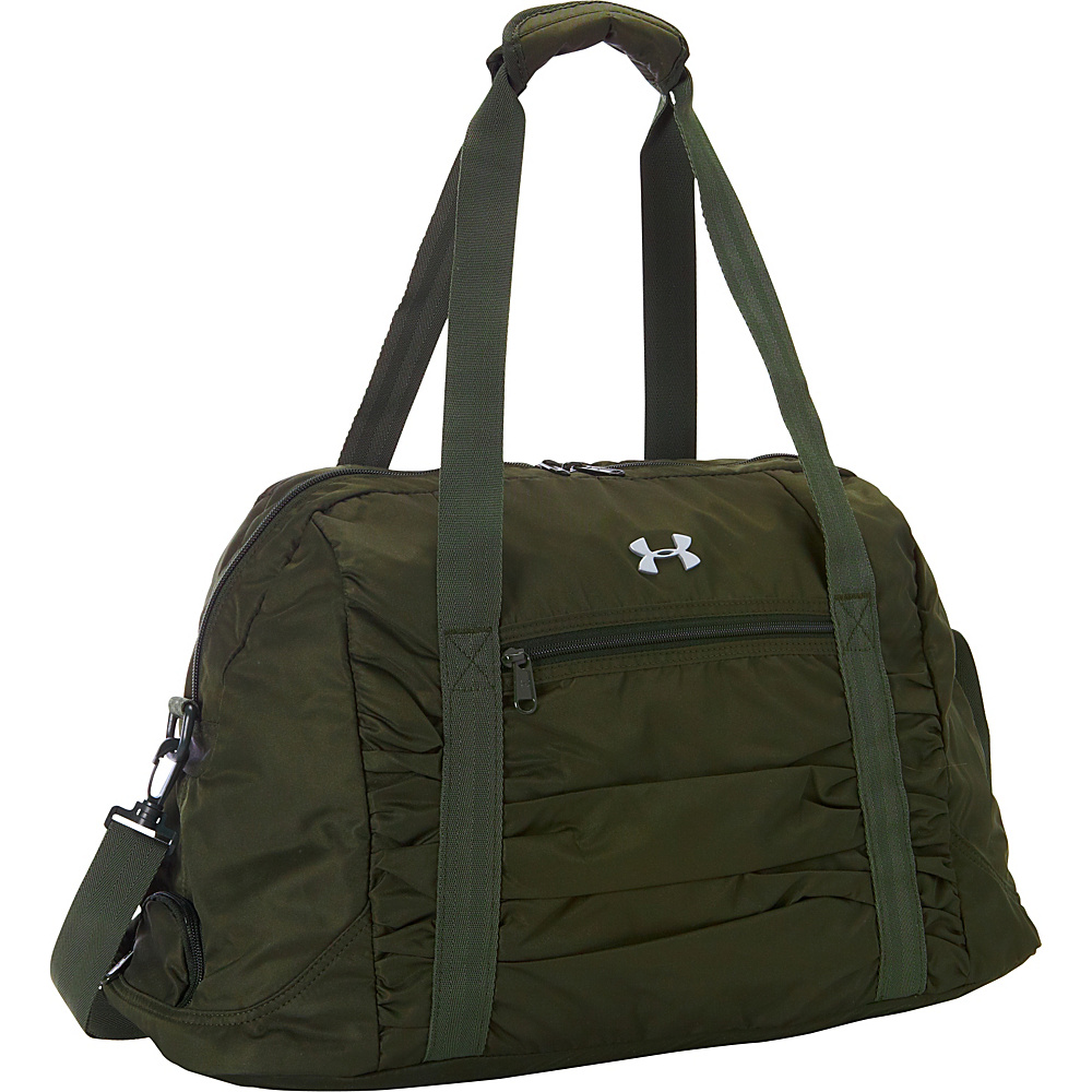 Under Armour The Works Gym Bag Artillery Green/Downtown Green/Silver - Under Armour All Purpose Duffels