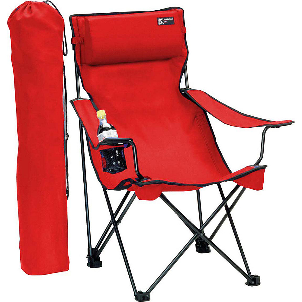 Travel Chair Company Classic Bubba Chair Red Travel Chair Company Outdoor Accessories