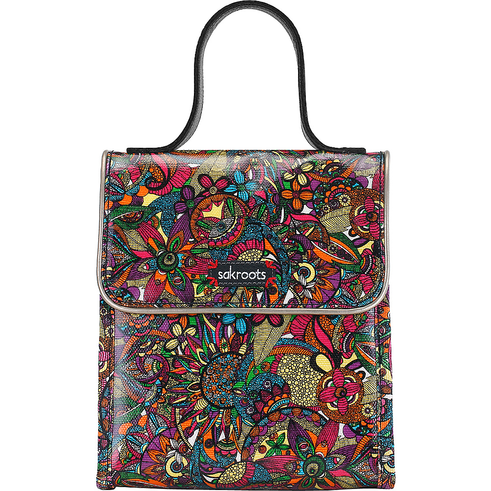 Sakroots Artist Circle Flap Lunch Box Rainbow Spirit Desert - Sakroots Travel Coolers - Travel Accessories, Travel Coolers