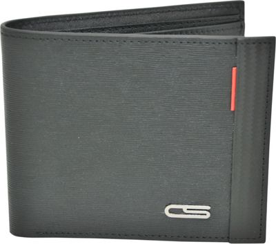 Carbon Sesto Classic Bifold Wallet Black - Carbon Sesto Men's Wallets