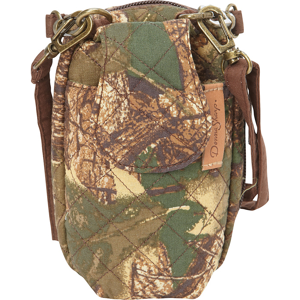 Donna Sharp Cell Phone Crossbody Purse Camo Donna Sharp Fabric Handbags