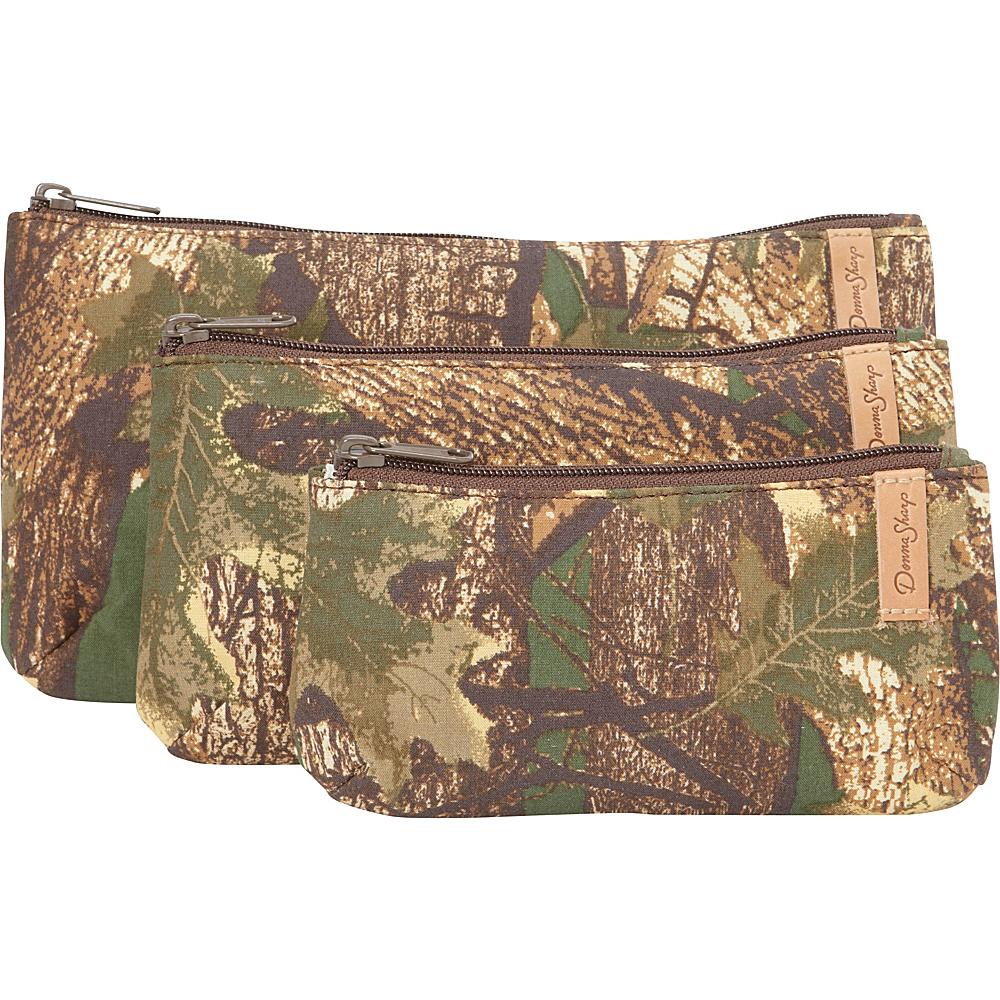 Donna Sharp Rectangle Cosmetic 3pc Camo Donna Sharp Women s SLG Other