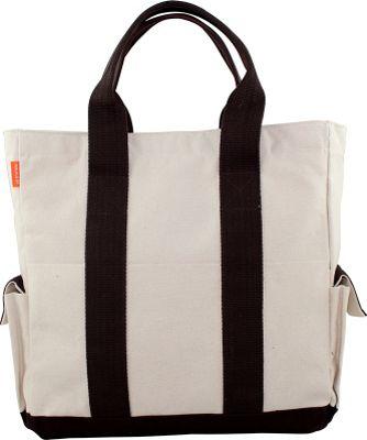 CB Station Travel Tote Natural - CB Station Fabric Handbags